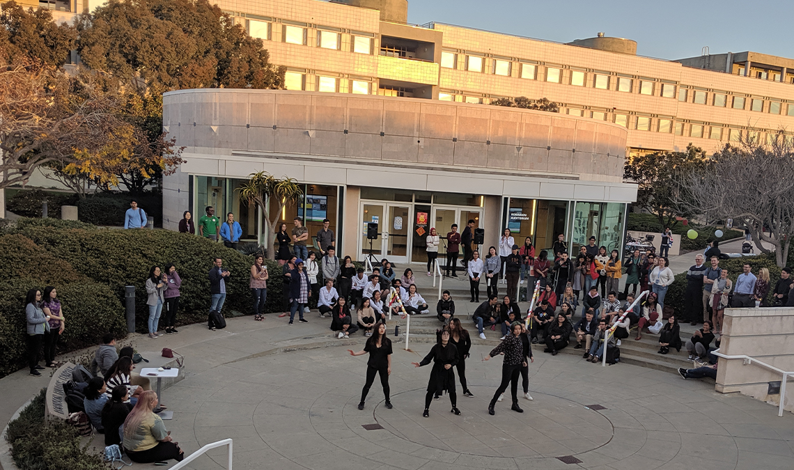 Events in GPS Courtyard