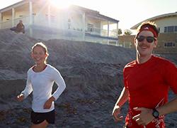 Emily Foecke running